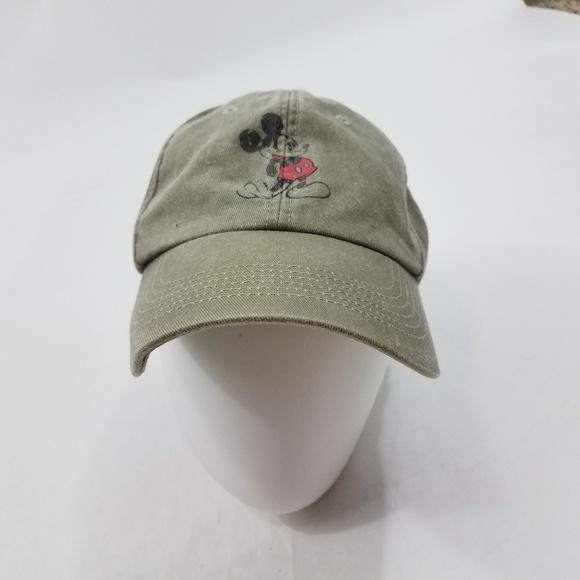9d48328336c Disney Other - Disney Mickey Mouse Hat Baseball Gray Cap Mens